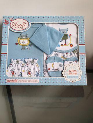 🚚 Lil'Soft Baby 6pcs Gift Set