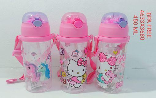 🚚 Kids Water Bottle with Straw