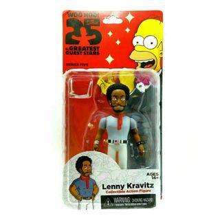 #MAUTHR Neca The Simpsons 25th Anniversary Guest Stars Lenny Kravitz