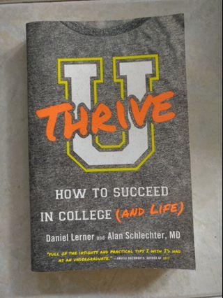 U Thrive - How to Succeed in College