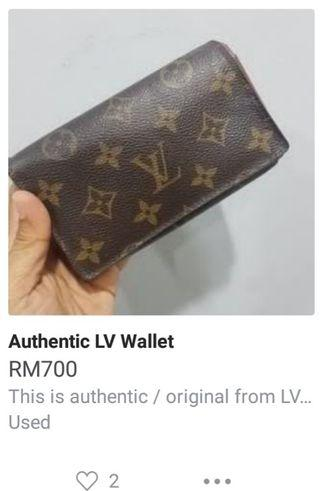 Urgent sales LV Wallet