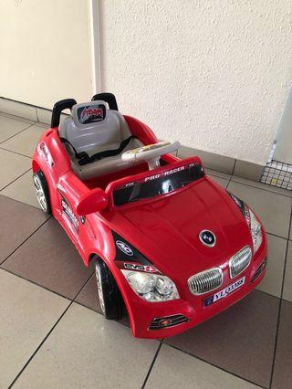 Kids electric Bmw car