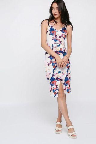 Love Bonito Dresley midi floral printed dress
