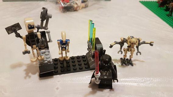 Lego 8095人仔散件加黑武士人仔