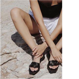 Aje Balti Knot Sandals Size 38/7
