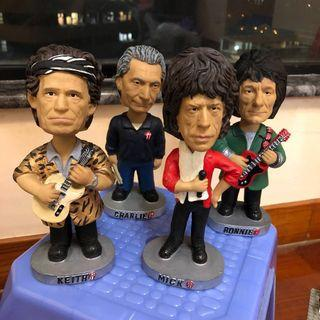 The Rolling Stones 搖頭公仔 Keith Richards Mick jagger