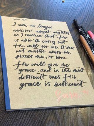 🚚 Customisable Muji Notebooks