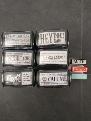 Typo Stamps