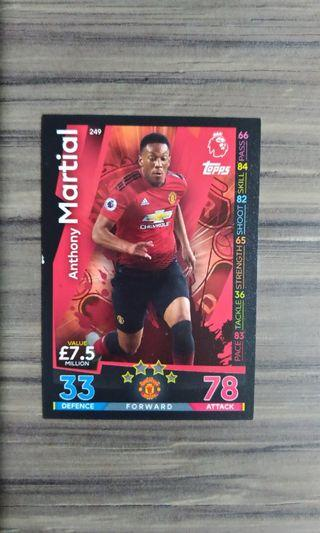 Topps Match Attax Anthony Martial