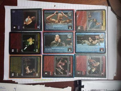 WWE Raw deal cards