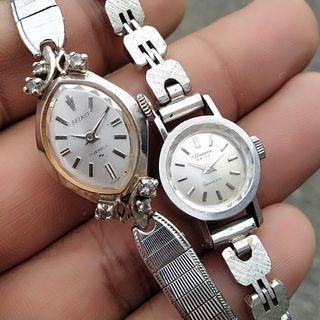 Vintage Rare Seiko Ladies Handwind Watch