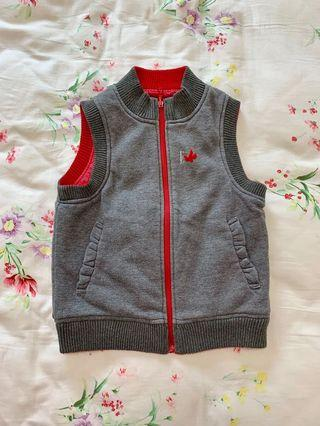 🚚 Reversible Winter Vest for Girls