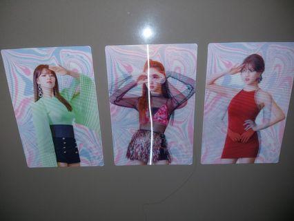 LENTICULAR TWICE Fancy You, Nayeon Jeongyeon Jihyo