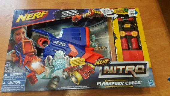 Nerf Nitro Flash Fury Chaos from Hasbro (negotiable price)