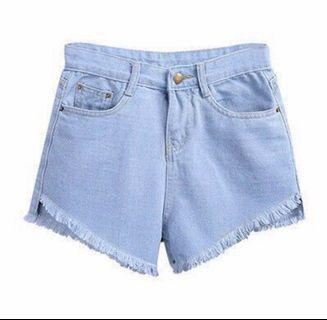 🚚 High Waist Denim Shorts #EndgameYourExcess