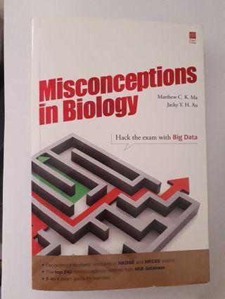 Misconceptions in Biology