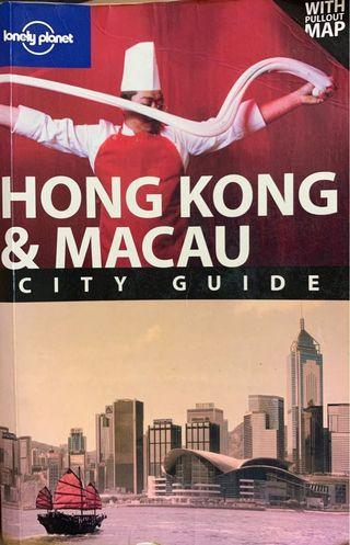 Lonely planet Hong Kong and Macau 旅遊書