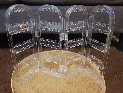 🚚 🌟 Transparent brand NEW earring stand🌟
