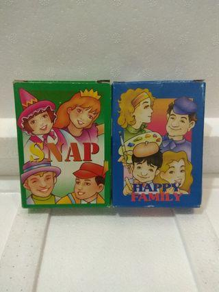 🚚 SNAP/HAPPY FAMILY GAME CARD