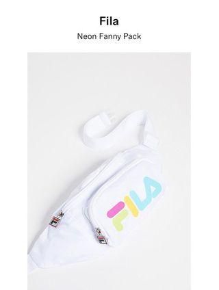 FILA neon fanny pack