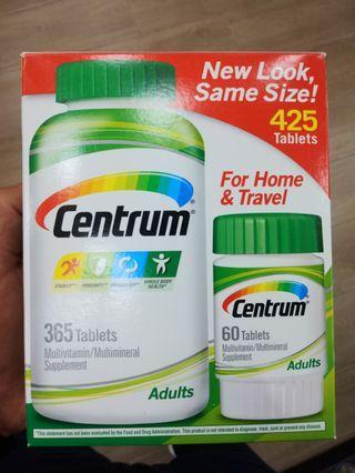 Multi vitamins 365 +60 tablets