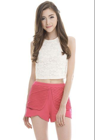 TCL Sweet Lace Top in Cream