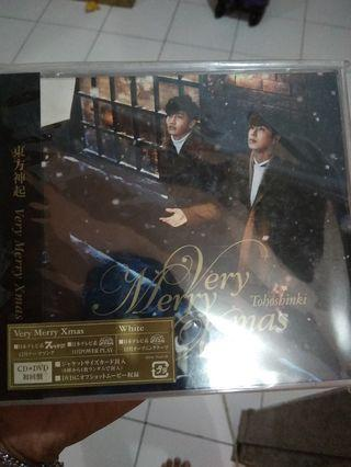 Tohoshinki CD Very Merry Christmas (Japanese)