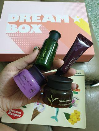 Innisfree trial kit bundle (dream box)