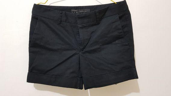 Zara Basic Short Pants - Black