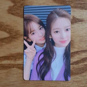Yujin and minju coloriz photocard