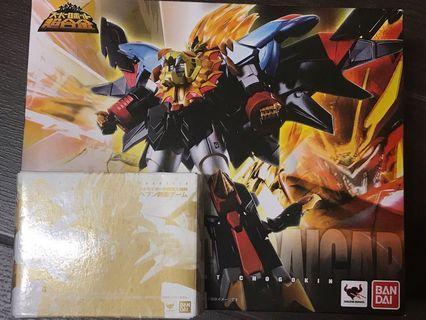 Bandai SR 合金 super robot 勇者王 始原 始源 GENESIC GAOGAIGAR 連 初回特典 超合金 魂 GX