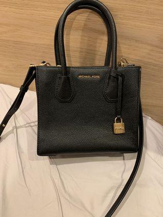 Michael kors black lock bag