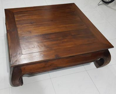 Antique Solid Wood Dynasty Coffee Table