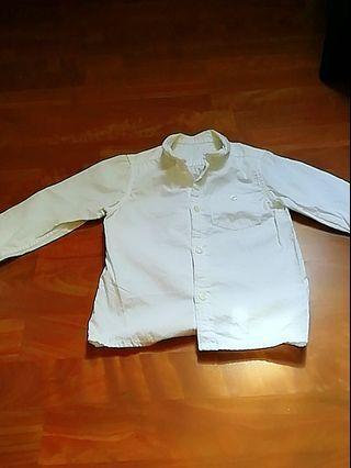 🚚 Mothercare Boys White Long sleeve Tops