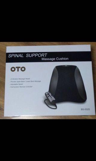 🚚 OTO Spinal Support Massage Cushion $60