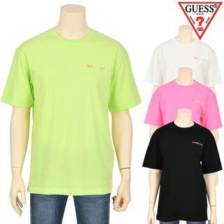 Guess Tee Rainbow Printed Logo T Shirt NJ2K0369