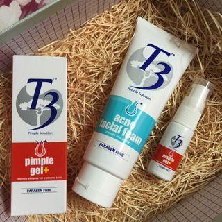 T3 acne facial set