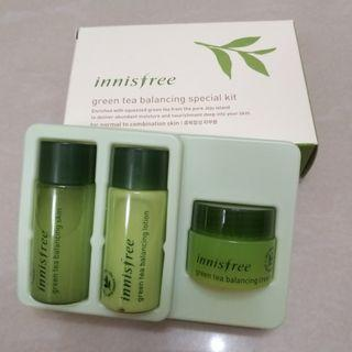Innisfree Green Tea Travel Set 旅行套裝