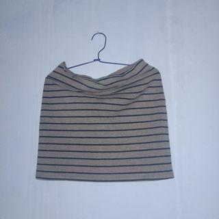 Cotton On Stripe Mini Skirt