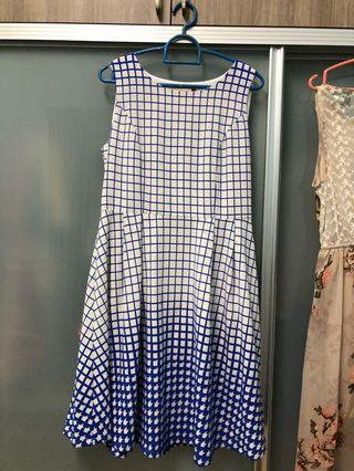 Hush puppies Checkered Dress
