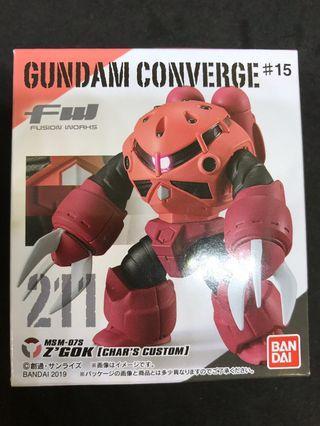 Gundam Converge#15 211 Z'GOK [Char's custom]