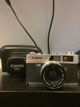 🚚 日本製 Canonet canon QL25 film manual camera 手動 機械式 底片相機