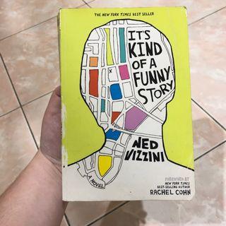 Its kind of a funny story ned vizzini novel inggris english impor import