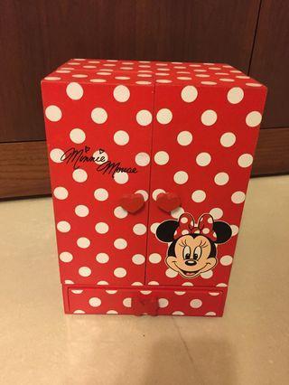 🚚 迪士尼米妮飾品收納櫃