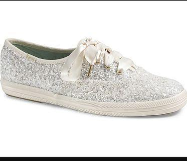 Keds Glitter white/cream sneakers (wedding suitable)