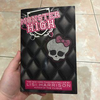 Monster high lisi harrison novel impor import inggris english the clique