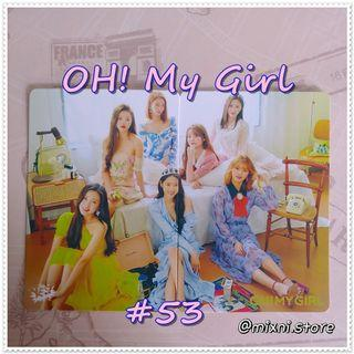 53期 [Yes!Card] OH! My Girl - 拼圖卡 ( Set )