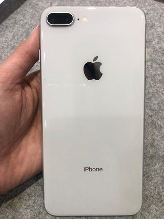 Apple iPhone 8 Plus 64G 銀 二手機