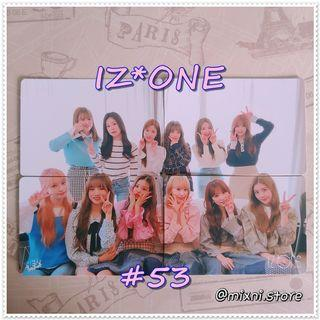 53期 [Yes!Card] IZ*ONE - 拼圖卡 ( Set )