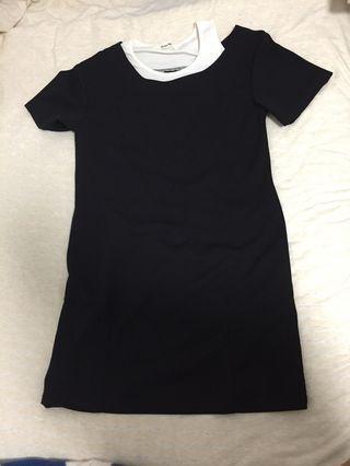 🚚 Black Off Shoulder Dress